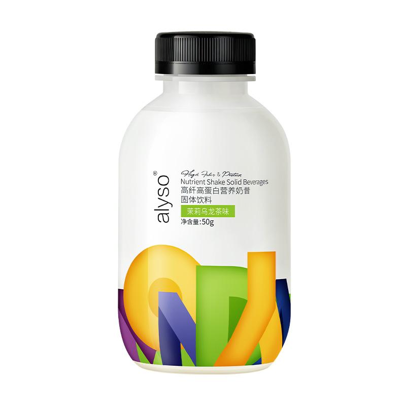 alyso饱腹低热量高纤高蛋白营养早晚代餐粉奶昔固体饮料新品薏仁