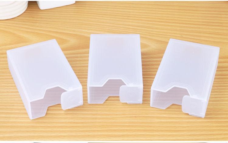 加厚软包烟盒香烟盒整包支装可携式创意个性烟套防压塑料透明烟盒详细照片
