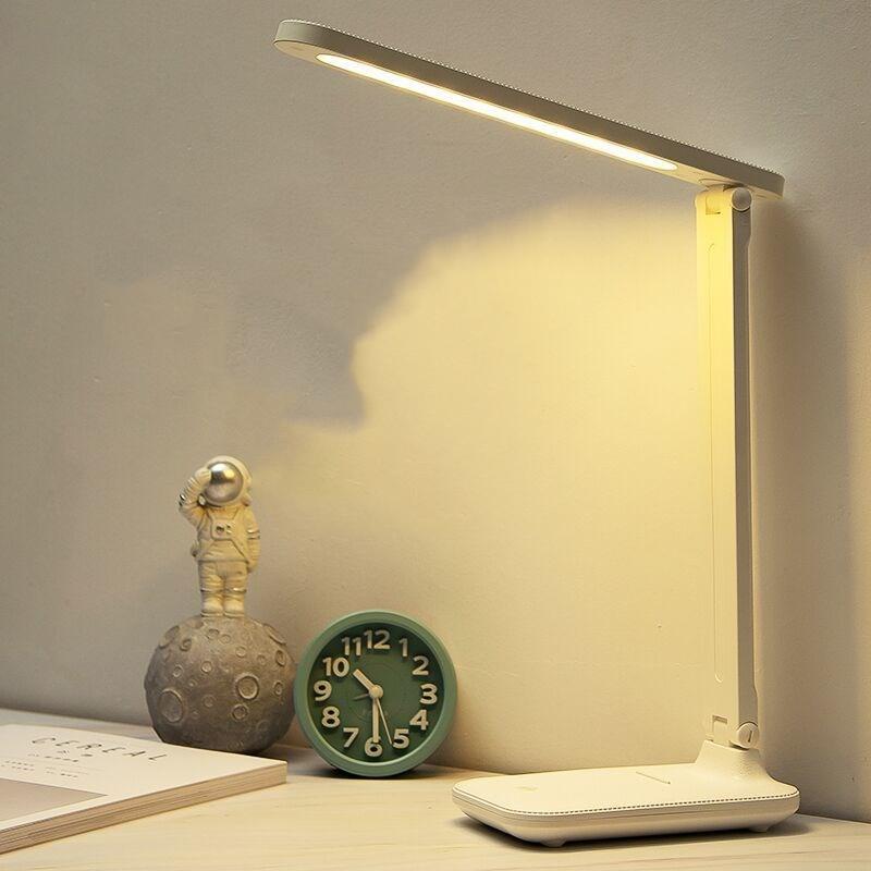 台灯护眼学习LED可充电插电儿童保视力卧室床头灯学生宿舍阅读灯