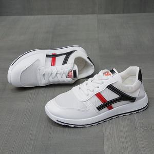 百搭学生鞋小白鞋女网面透气运动鞋板鞋韩版
