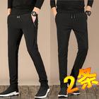 【两条】春季新款男运动裤男士学生长裤