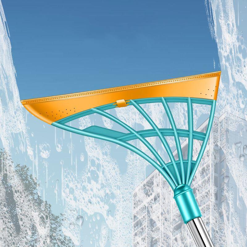 韩国黑科技家用扫地扫把不粘头发笤帚扫帚软胶拖把卫生间刮水神器