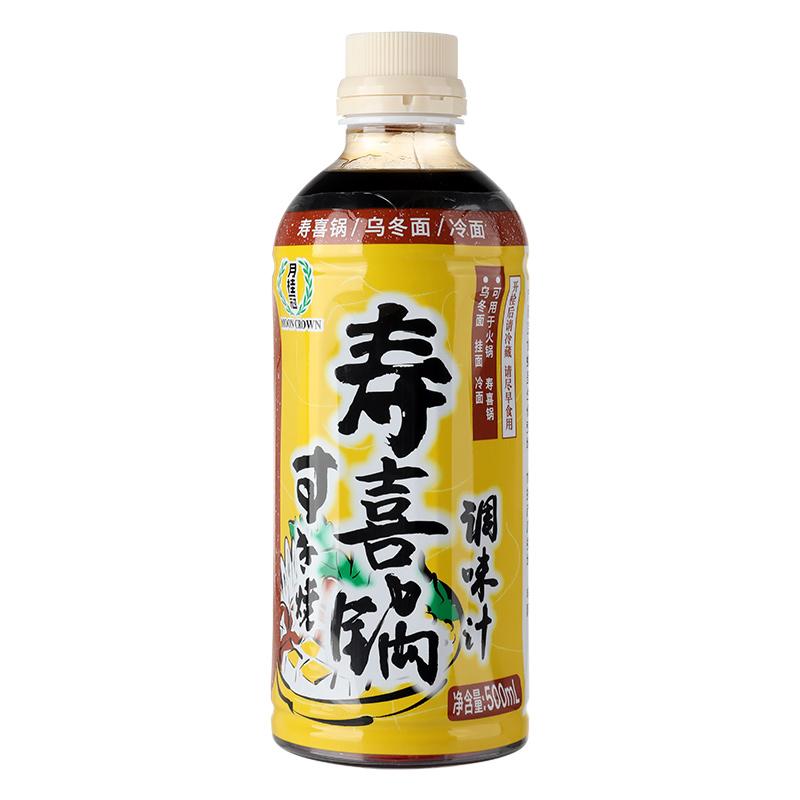 月桂冠寿喜锅火锅调味酱汁500ml