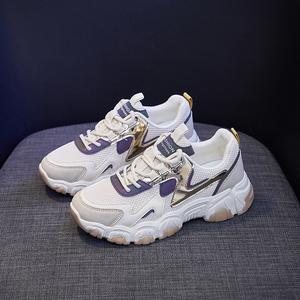 老爹鞋女春秋季运动鞋百搭增高鞋