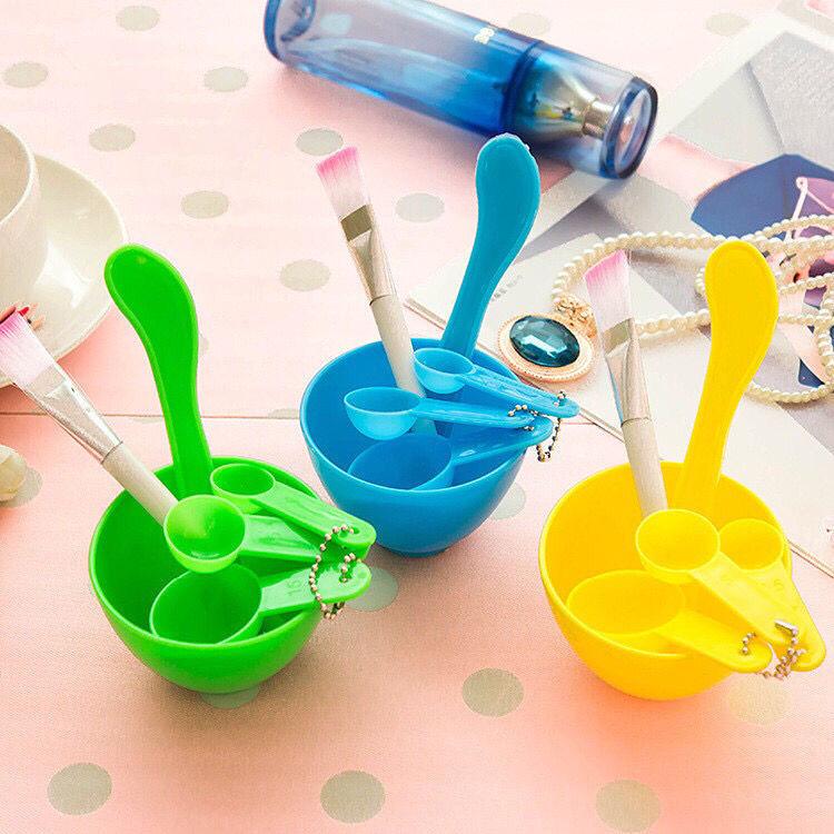 面膜碗小碗调膜碗套装刷子六件套面膜刷棒