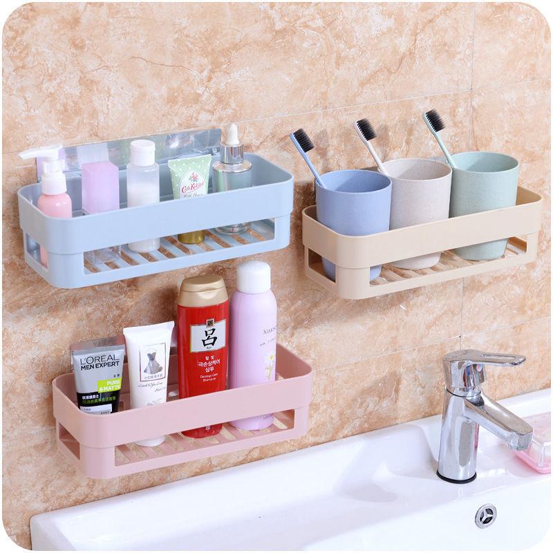 卫生间置物架壁挂浴室卧室厕所墙上