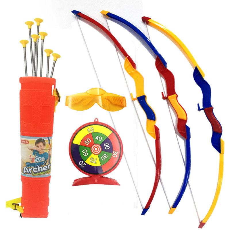 儿童弓箭玩具套装大号户外运动休闲传统