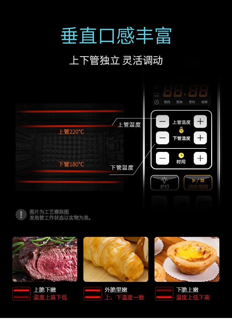 九阳 KX-38I95 旗舰型 多功能全自动电烤箱 38L 电脑精确控温 图10