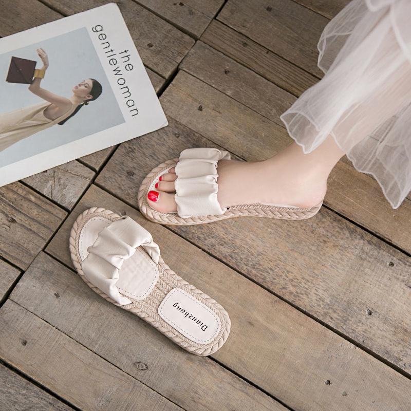 网红夏天ins风仙女凉拖鞋女外穿潮2021年夏季新款时尚百搭沙滩鞋