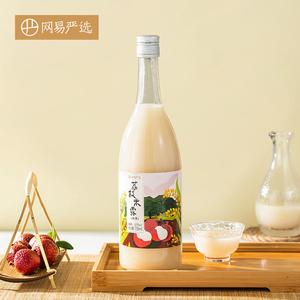 网易严选荔枝米露750毫升低度女士酒网红甜酒苏州桥故宫酒甜米酒