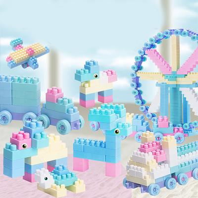 积木小颗粒拼装益智力动脑多功能男孩子玩具女孩系列儿童散装