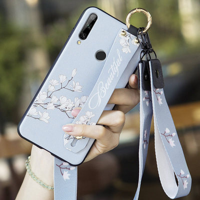 Huawei enjoys 10PLUS mobile phone shell 10E enjoys 10 silica gel imagination 10s protective cover 10P ten anti-fall female model small fresh art matte all-inclusive shell wristband ultra thin soft STK one al00