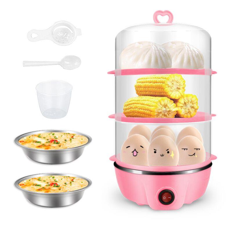 蒸蛋器创意煮蛋机小家电小型厨房电器台面家用智能自动壁挂式v台面