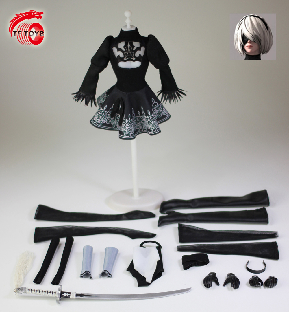 "1//6 Arm Warmers Sleeves Stockings Set For 12/"" PHICEN Hot Toys Female Figure USA"