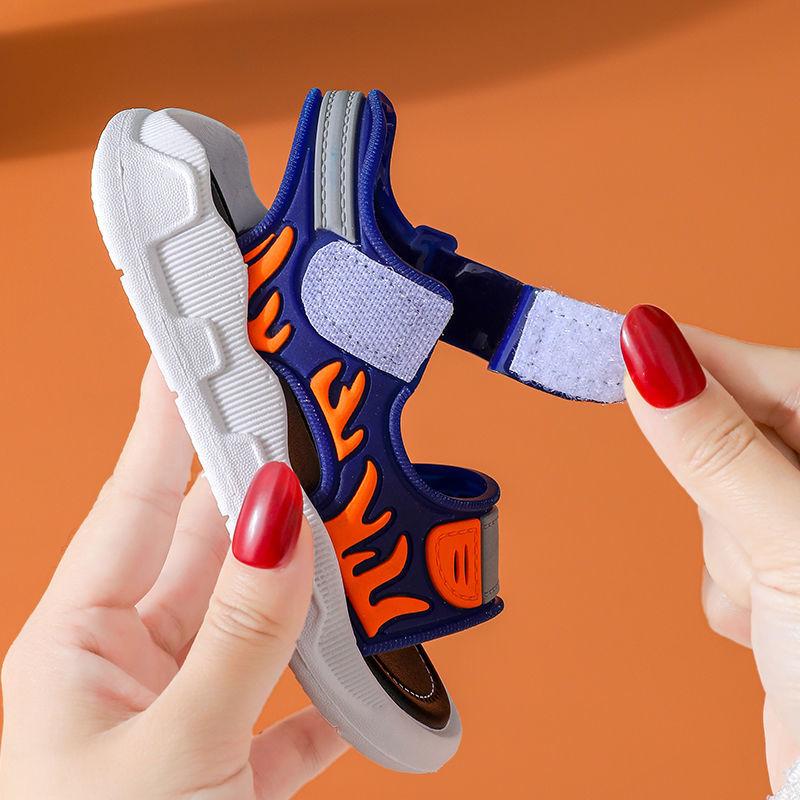 男童凉鞋2021新款夏季中大童男孩软底防滑小童宝宝鞋子沙滩鞋(男童凉鞋中大童男孩软底防滑小童鞋子沙滩鞋)