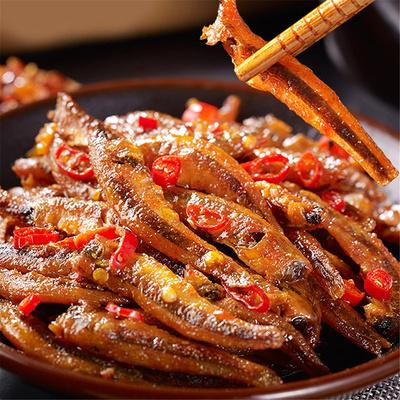 【三只鸭子】湖南特产口水鱼即食鱼干20包