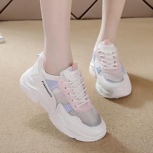 小白鞋女2021爆款新款贝壳头时尚百搭学生板鞋子2021春季休闲潮鞋