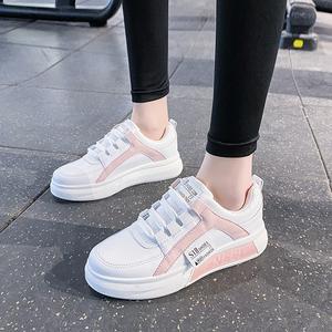 牛皮小白鞋女鞋2020春季新款百搭爆款