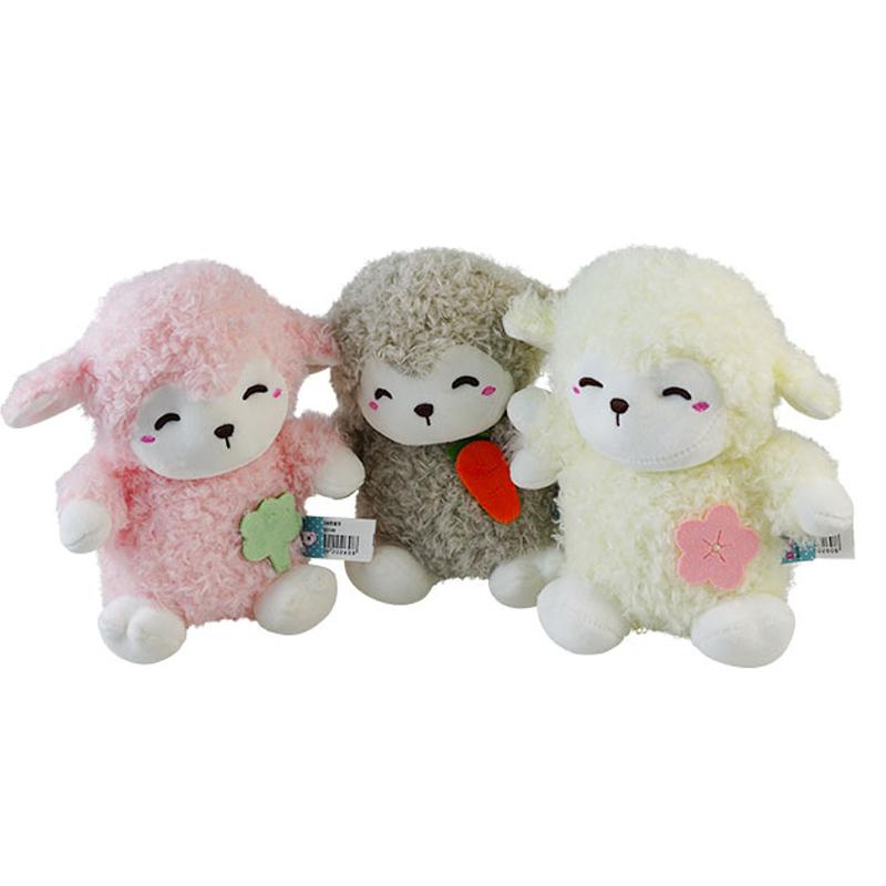 宝贝趣毛绒玩具公仔宝宝安抚抱枕哄睡卡通动物恐龙猪兔独角兽玩偶