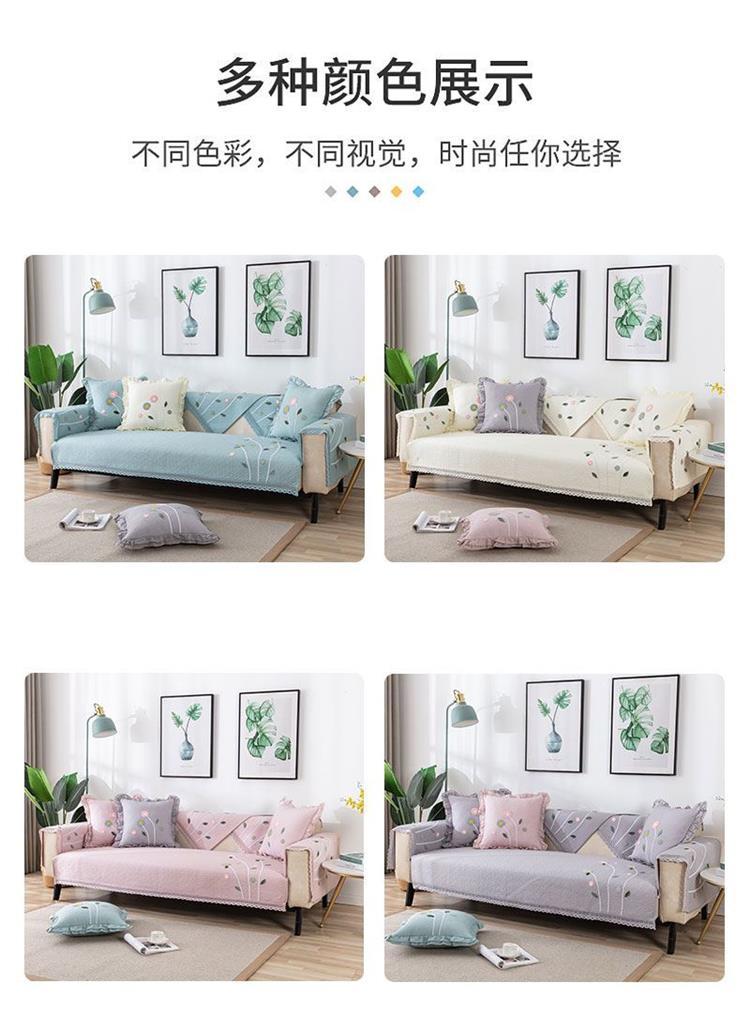 中國代購 中國批發-ibuy99 沙发垫子单块田园风格小盖布ins风日式美式复古靠背巾欧式套罩