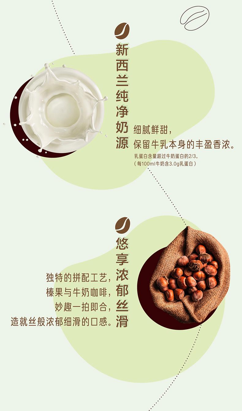 雀巢 即饮咖啡 丝滑榛果/丝滑焦糖  268ml*15瓶 图3