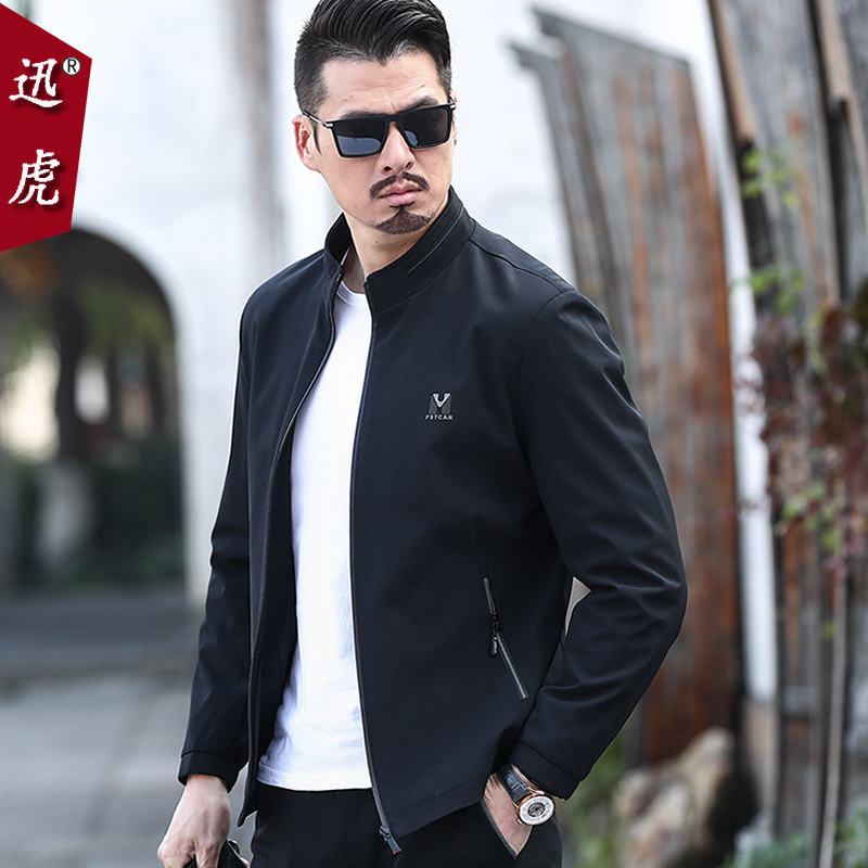 Middle-aged men's jacket 2020 new spring and autumn 30 men's 40-year-old 50 middle-aged seniors top dad spring coat