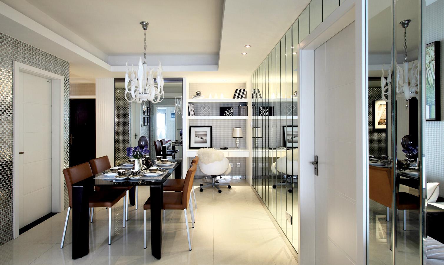 装修案例打造时尚的家庭居家环境,体验新家的感觉!