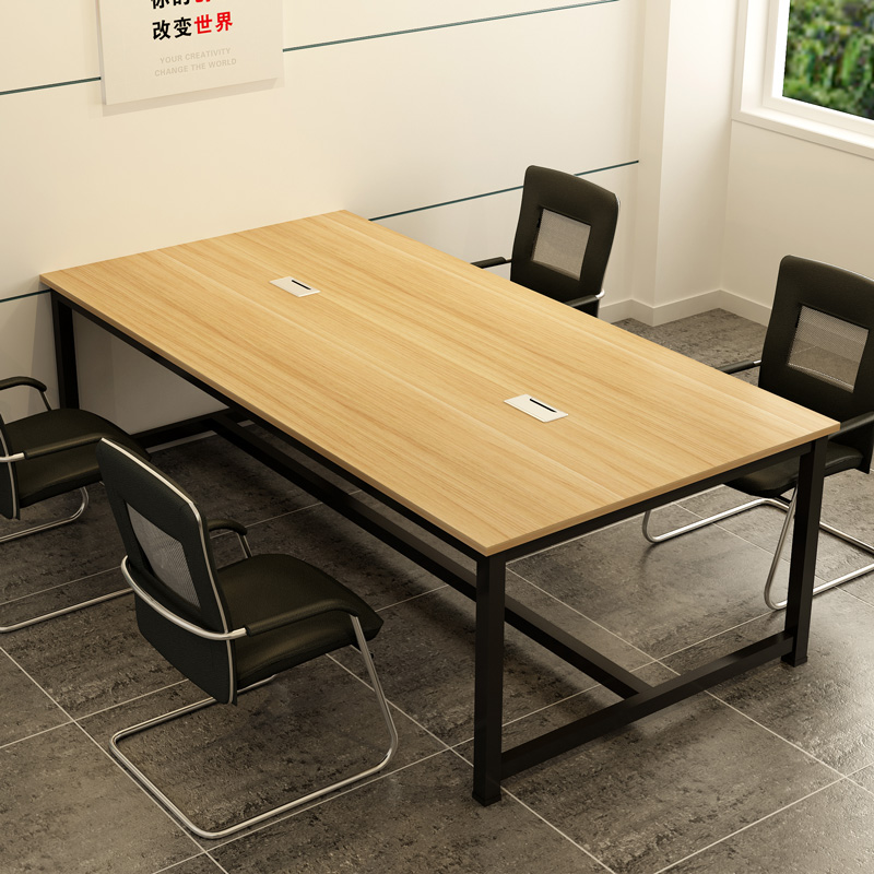 USD Conference Table Long Table Staff Desk People Modern - Detachable conference table