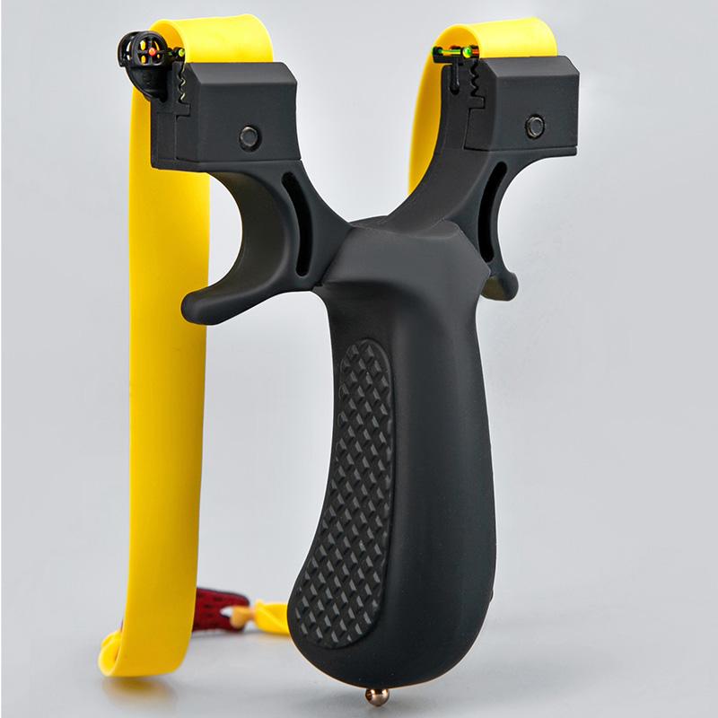 新品发明专利精准免绑扁皮弹弓