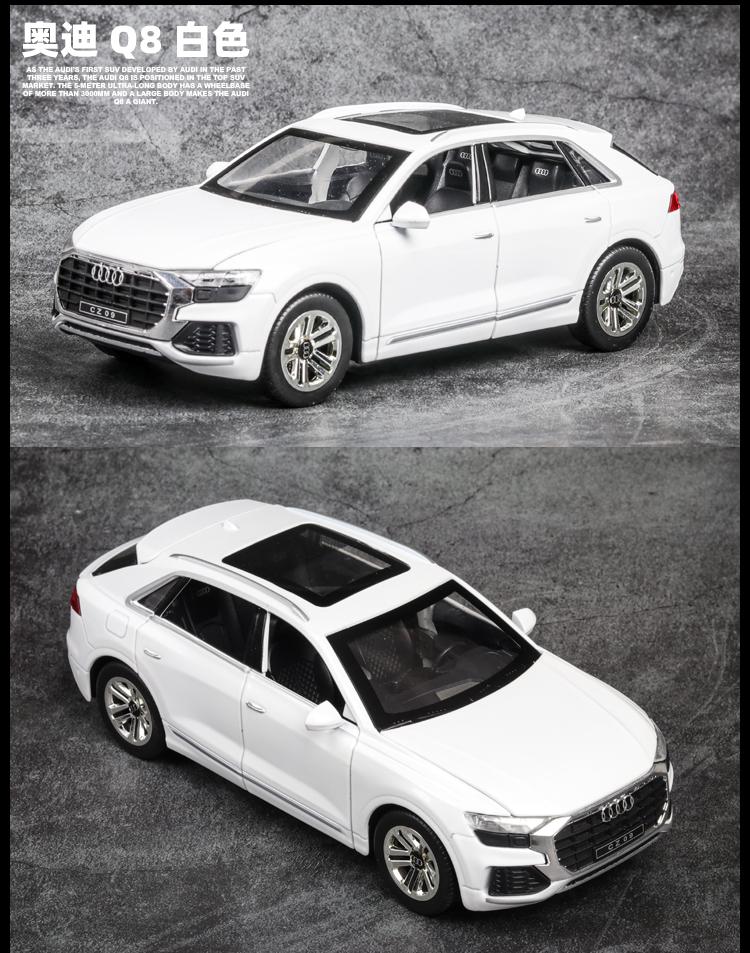 Xe mô hình tĩnh Audi Q8 tỉ lệ 1:24 - ảnh 3