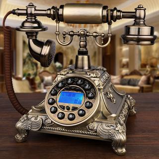 Античный телефон континентальный ретро сбор винограда вращение европа и америка стиль сельская местность бытовой электрический слова сиденье машинально новый, цена 1537 руб