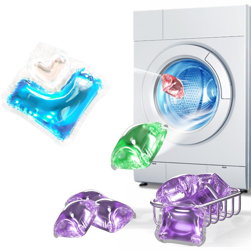 洗衣凝珠球香水型持久留香除菌除螨洗衣液留香珠洗衣服护理家庭装
