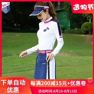 New zg-6 Golf dress women's ball dress women's suit long sleeve top T-shirt short skirt pants