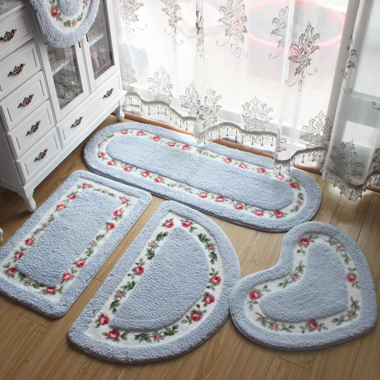 Cửa phòng tắm mat tầng mat cửa lối vào phòng ngủ thấm sàn mat phòng tắm phòng tắm non-slip mat không thấm nước carpet mat