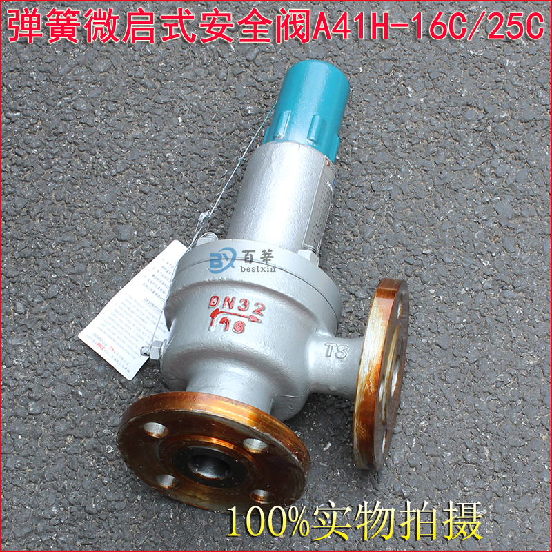 A41H A41Y Flanged type Spring loaded safety valve 4