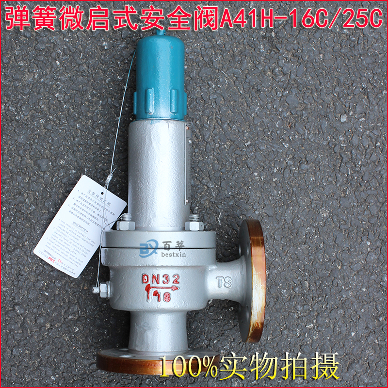 A41H A41Y Flanged type Spring loaded safety valve 1