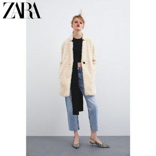 Куртки утеплённые, полупальто,  ZARA новый  TRF женщины шерсть пальто пальто  01255272712, цена 4593 руб