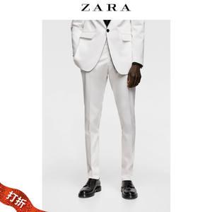 【打折】ZARA 新款 男装 西装裤 01564489250