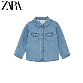 Рубашки,  ZARA новый женщина младенец молодой ребенок основные ковбой рубашка  03335015400, цена 1127 руб