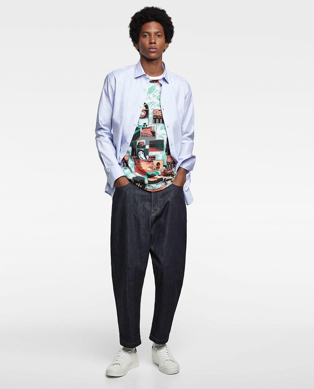 Thời trang nam Zara  23983 - ảnh 3