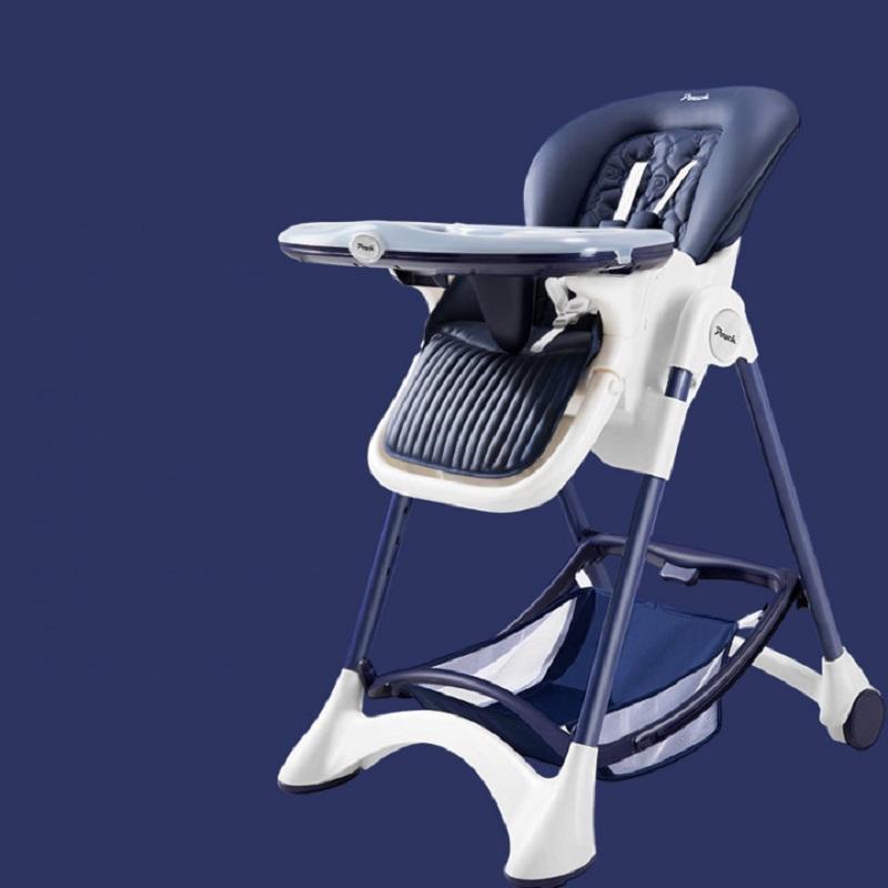 Pouch宝宝餐椅婴儿多功能可折叠椅子便携家用吃饭儿童餐椅K05plus