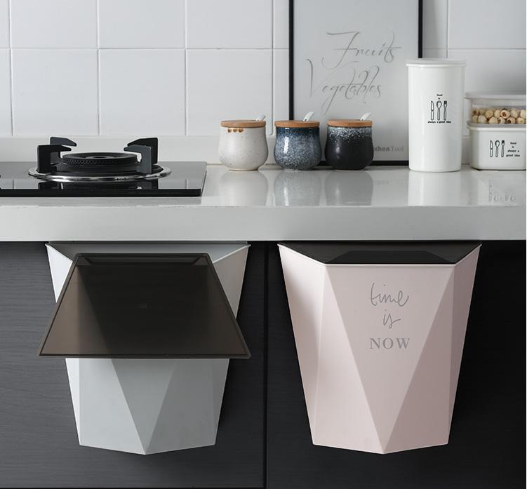 厨房挂式垃圾桶,扔垃圾更方便