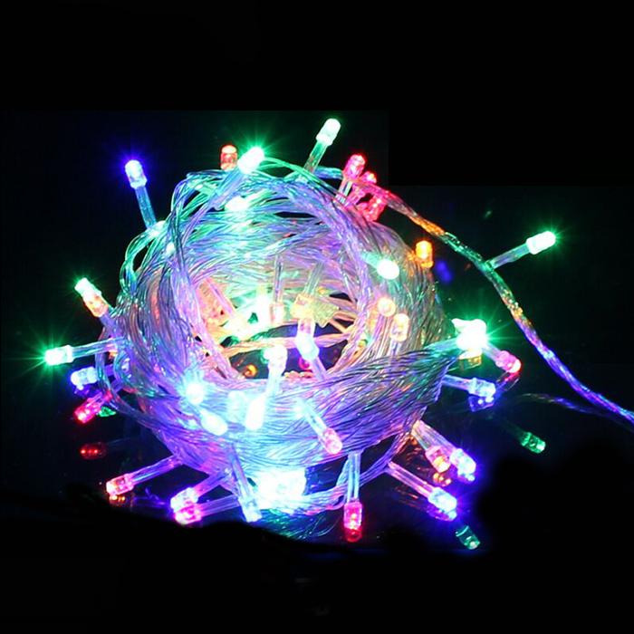 【 разноцветный - подключить стиль 】10 метров 100 свет звездный