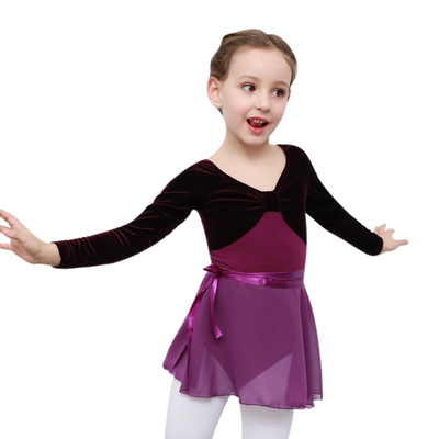 Girls ballet tutu skirt for kids children kindergarten stage performance exercises wrap skirts