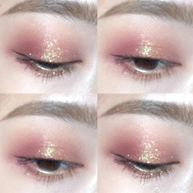 Judydoll cam một màu bóng mắt đĩa nam châm nghiền khoai tây g33 nàng tiên cá Ji sequin màu đất mờ ngọc trai G44 - Bóng mắt