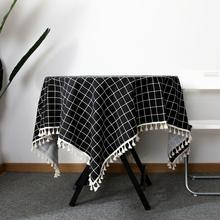 【2件装】超火北欧ins网红餐桌布茶几垫