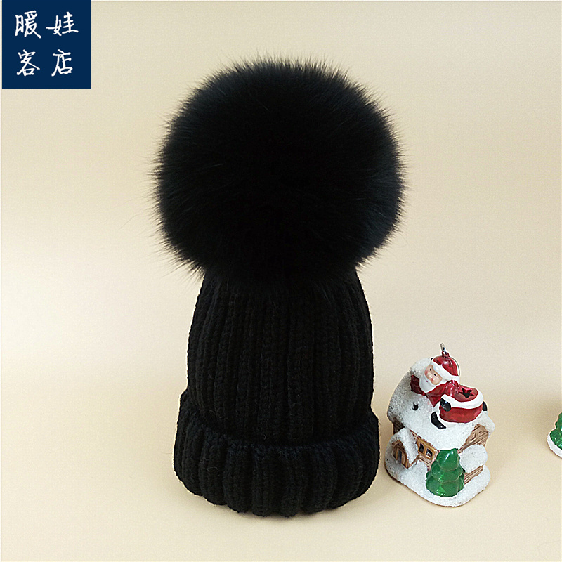 244737c6de4 USD 29.30  Baby hat autumn winter 1-2 years old boys and girls ...