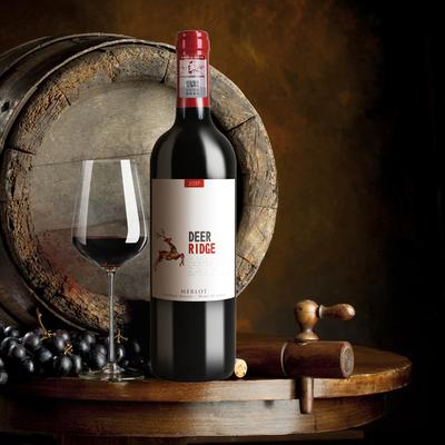 买一送一卡门智利原瓶原装进口金鹿梅洛干红葡萄酒红酒13.5度送礼,免费领取30元淘宝优惠卷