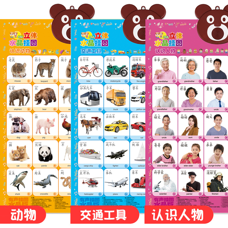 3 Sheets - Animal World - Characters - Transportation
