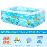 诺澳 婴儿童充气游泳池 二环活动款 120*90*40cm 券后19.9元包邮  (39.9-20)